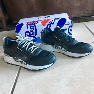 Puma Rs-0 X Pepsi Leather Low Top Sneakers